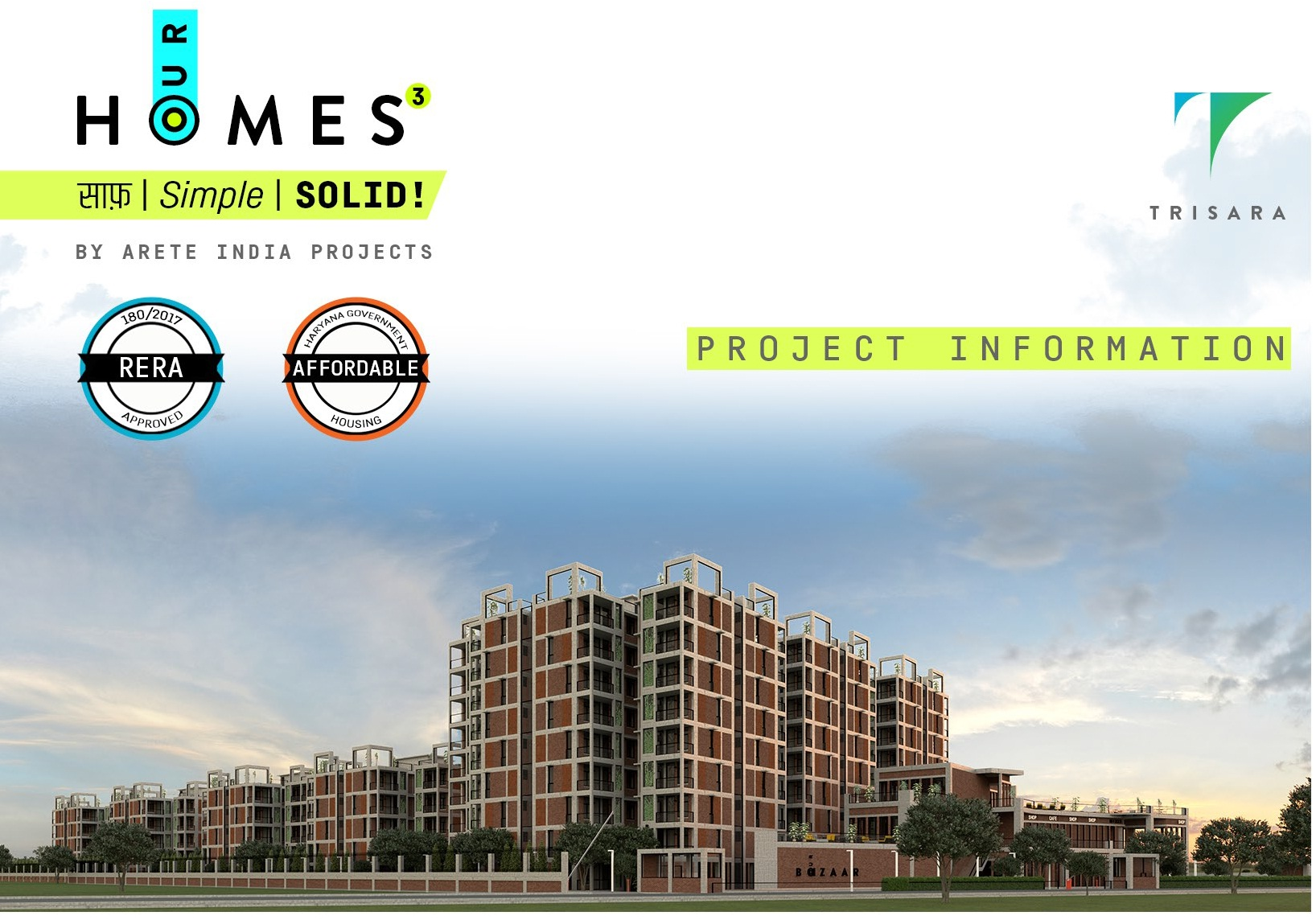 Trisara Our Homes in Sector 6 – Sohna, Gurgaon