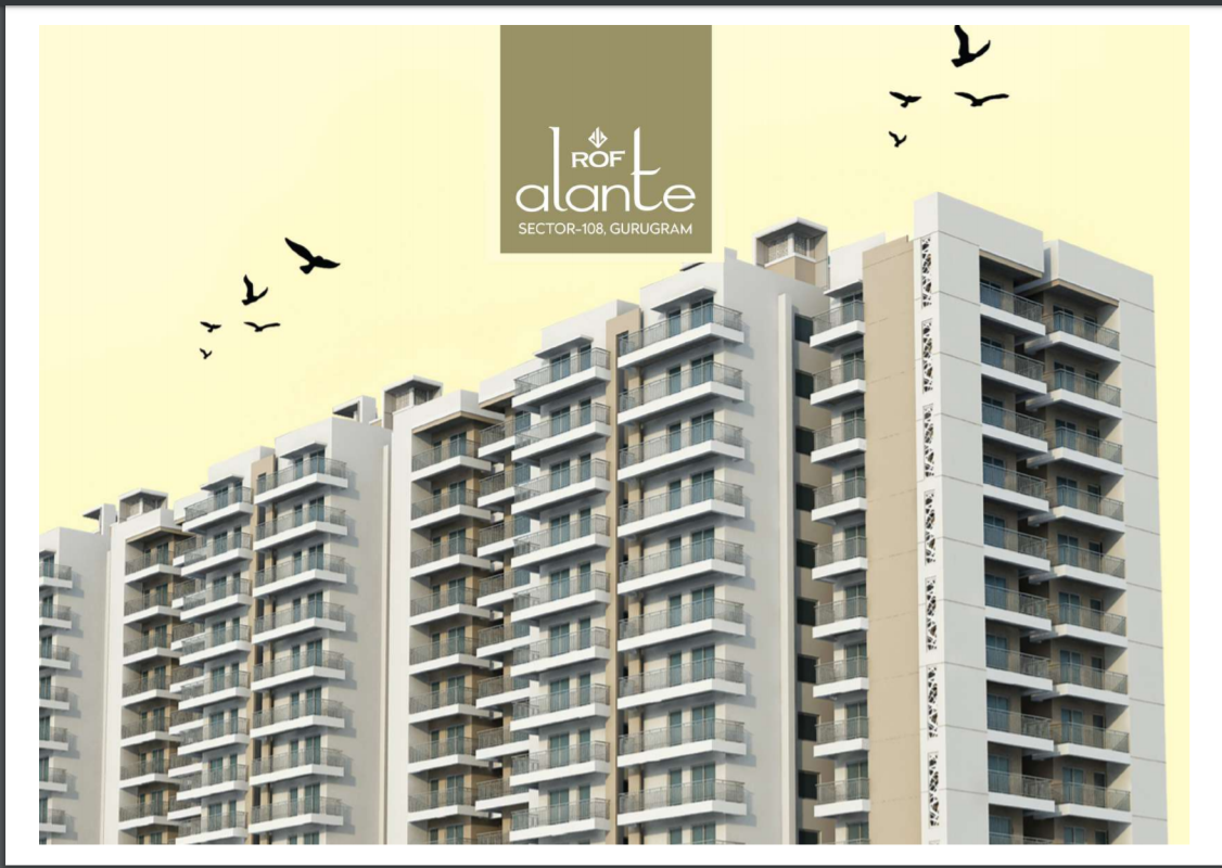 ROF Alante 108 Affordable Housing Sector 108 Gurgaon
